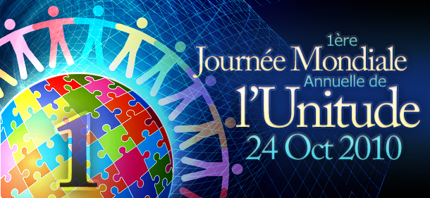 PREMIÈRE JOURNÉE MONDIALE DE L'UNITUDE