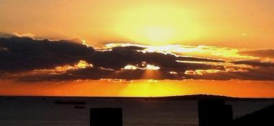 """Durdle Door Sunset"" par Amber Haines"