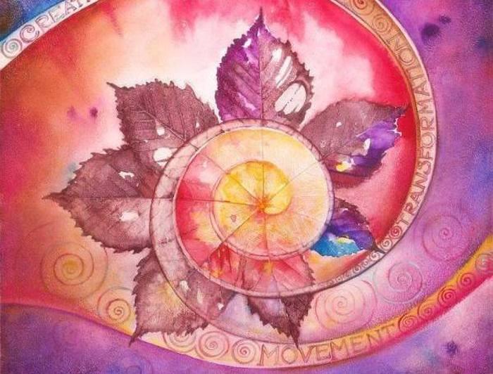 Mandala de la créativité de Anna Ewa Miarczynska
